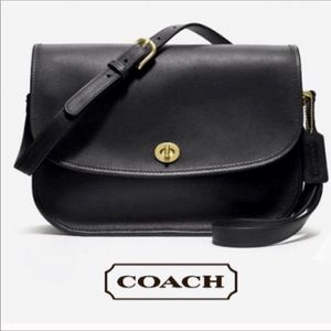 Vintage Coach #9790 city crossbody shoulder bag